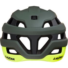 Lazer Sphere Helm matte dark green flash yellow